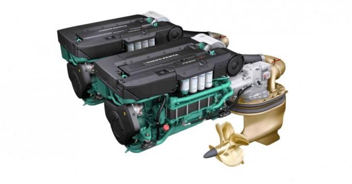 Motorizzazione IPS per imbarcazioni sportive