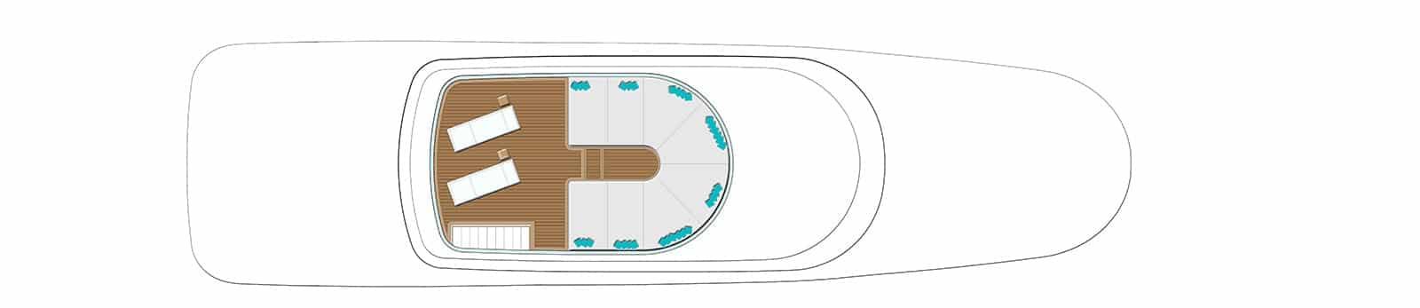 Navetta 35 metri - Sun Deck