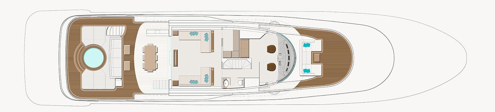 Navetta 35 metri - Upper Deck