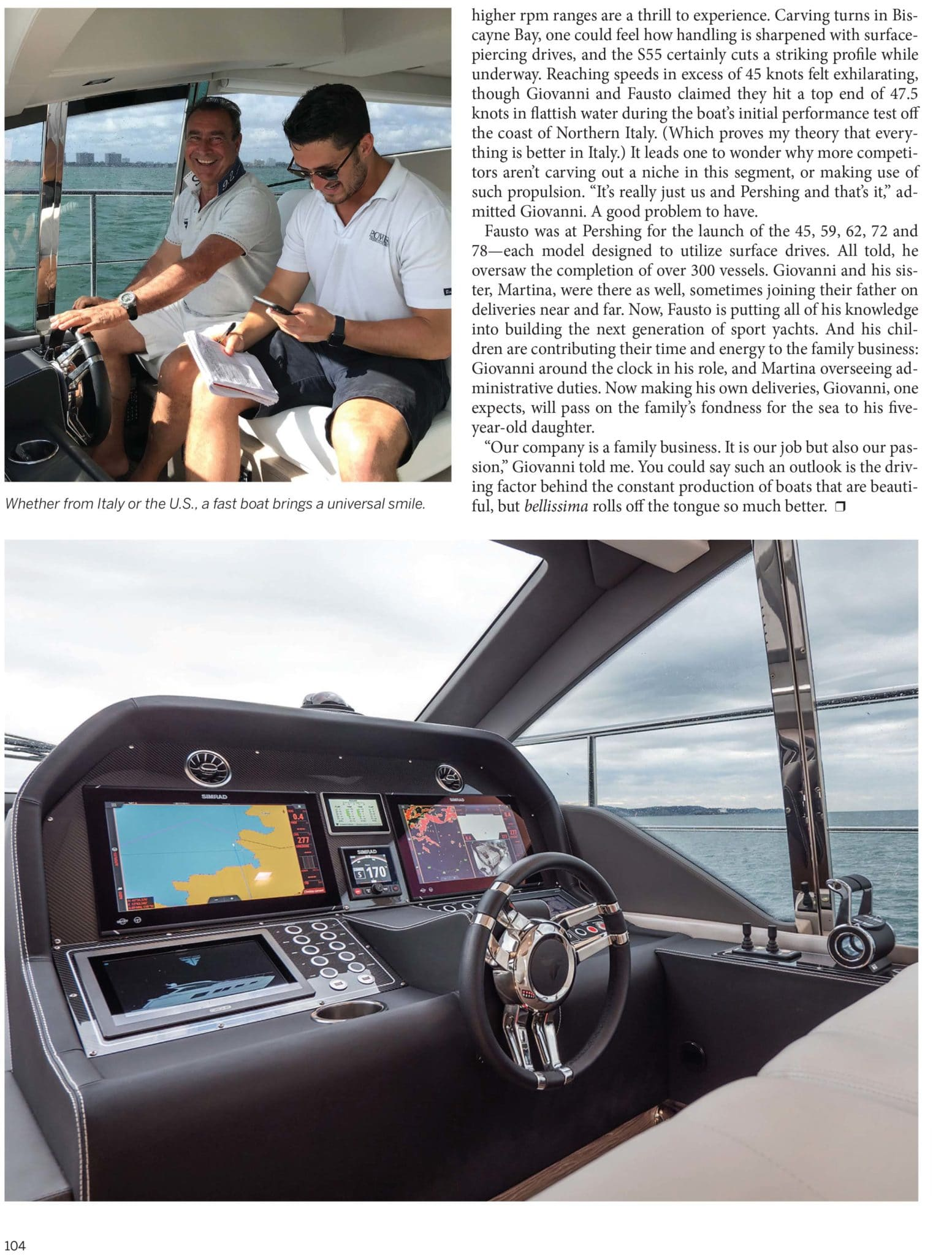 4 - Sport Yacht Review Power & Motor YachtEverything described by