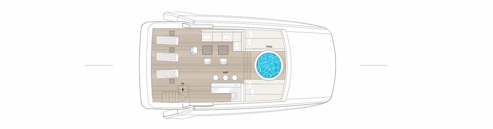 E32 Sun Deck- Explorer Yacht