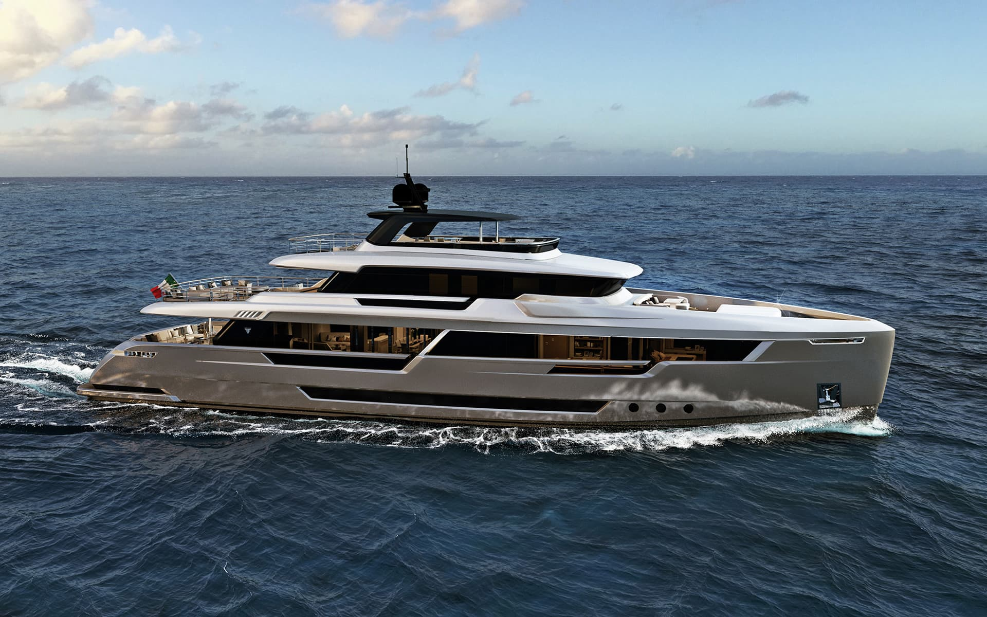 Explorer Luxury Yacht Steel Filippetti