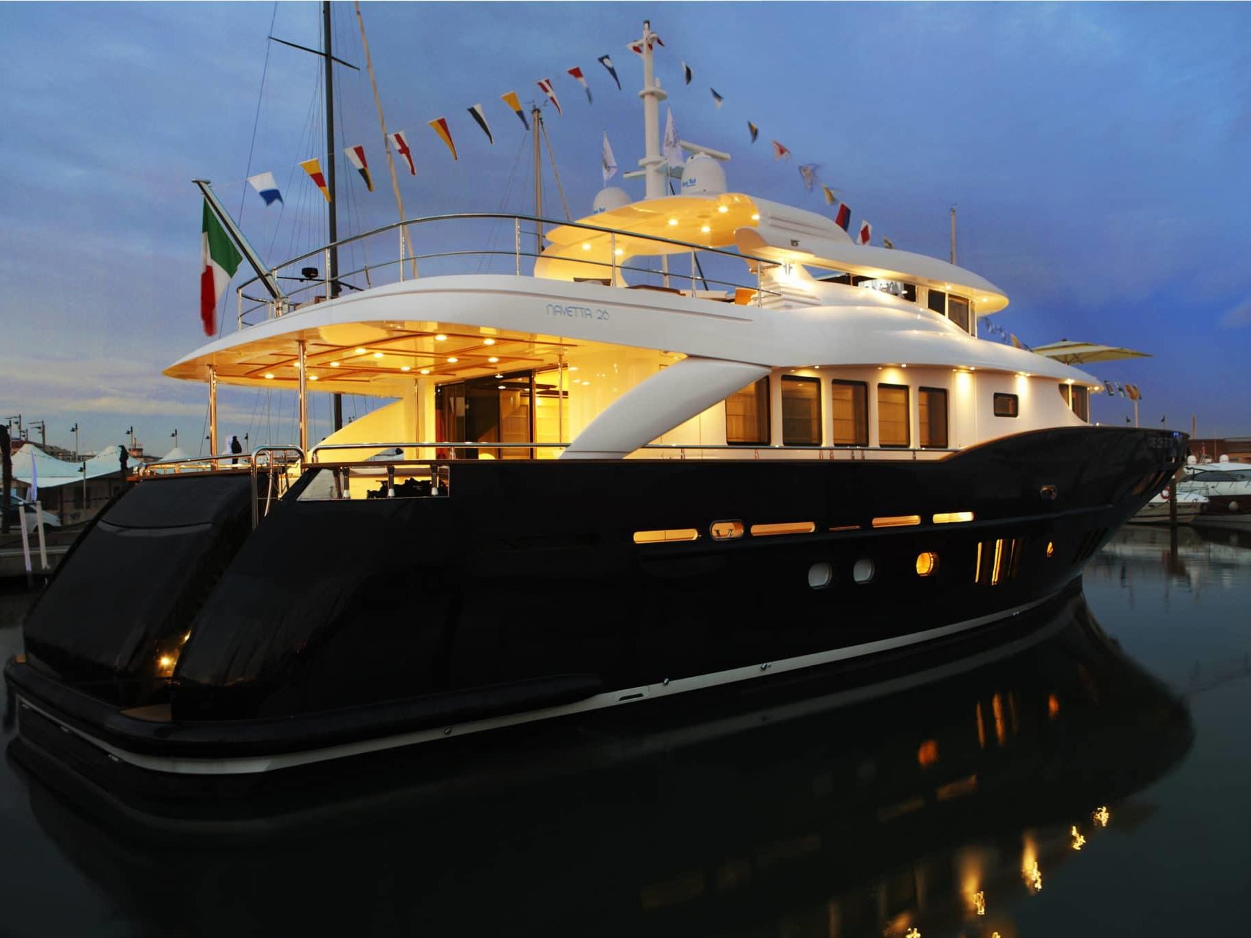 Imbarcazione con bassi consumi di carburante N26