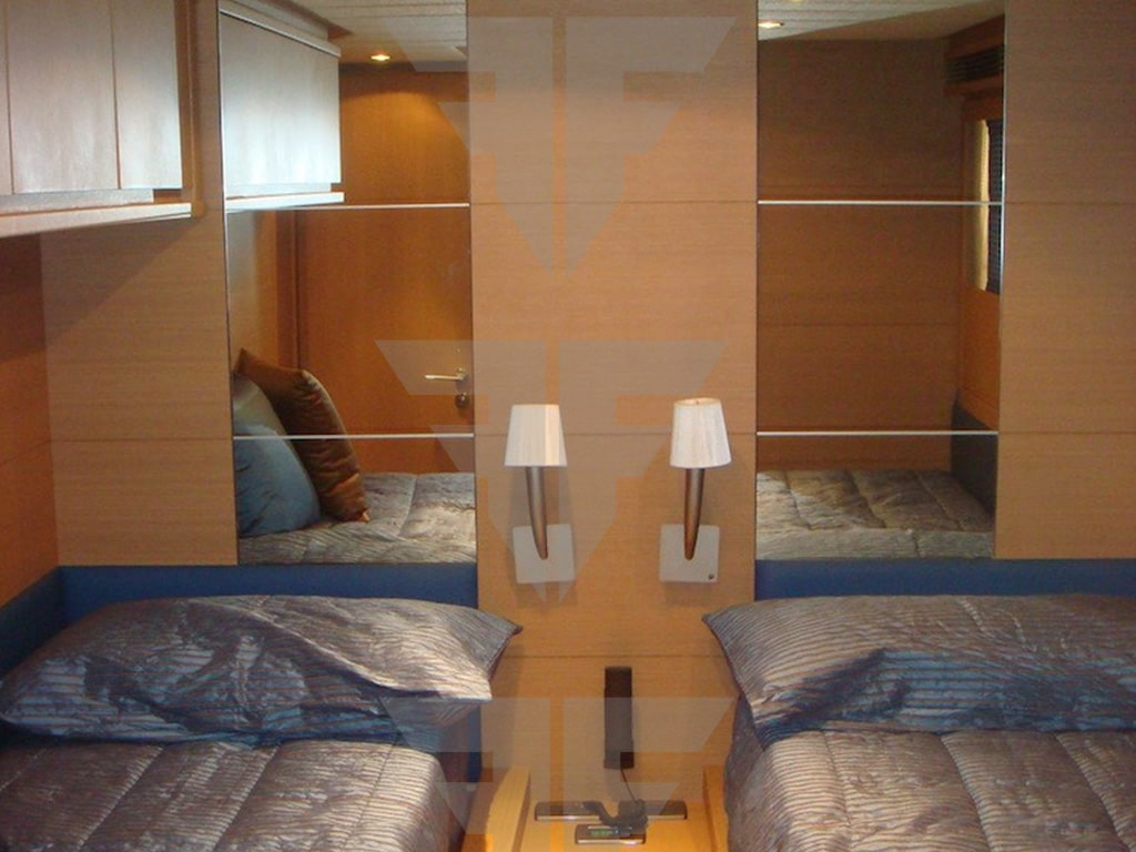 Guest Cabin - Second Hand Yacht For Sale