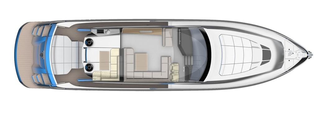 Main Deck S65 Sport Yacht