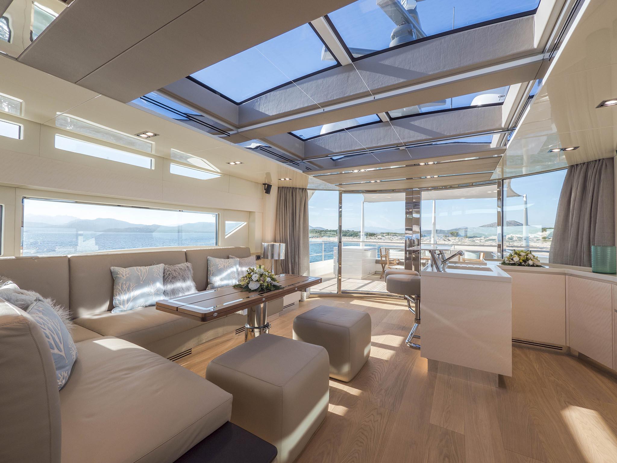 Lounge Filippetti Yacht Luxury 26 mt