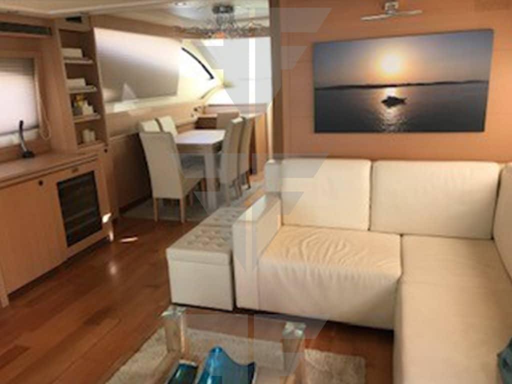 Master Salon - Luxury Yacht for Sale