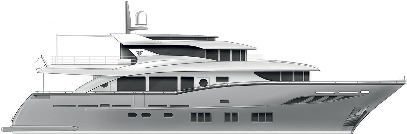 Profile Navetta 26- Convertible version