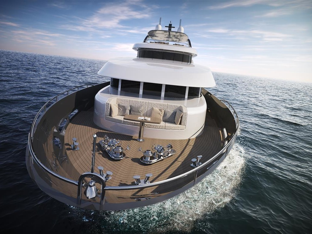 35 meters Displacement Yacht