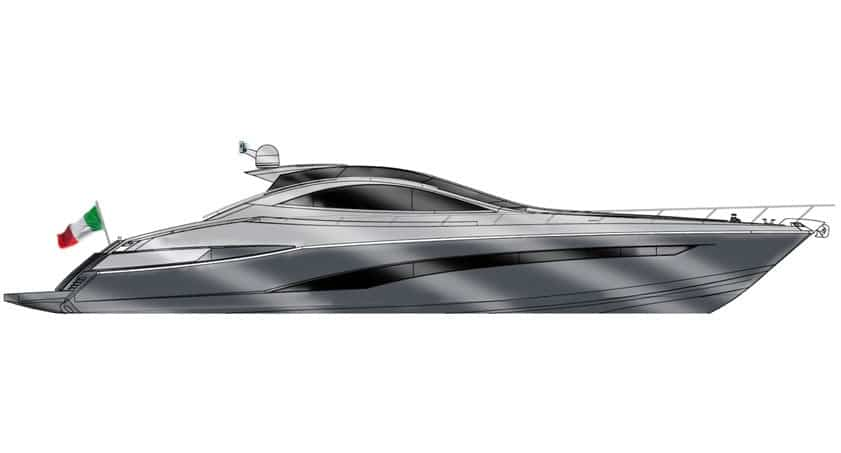 Profile S75 Sport yacht