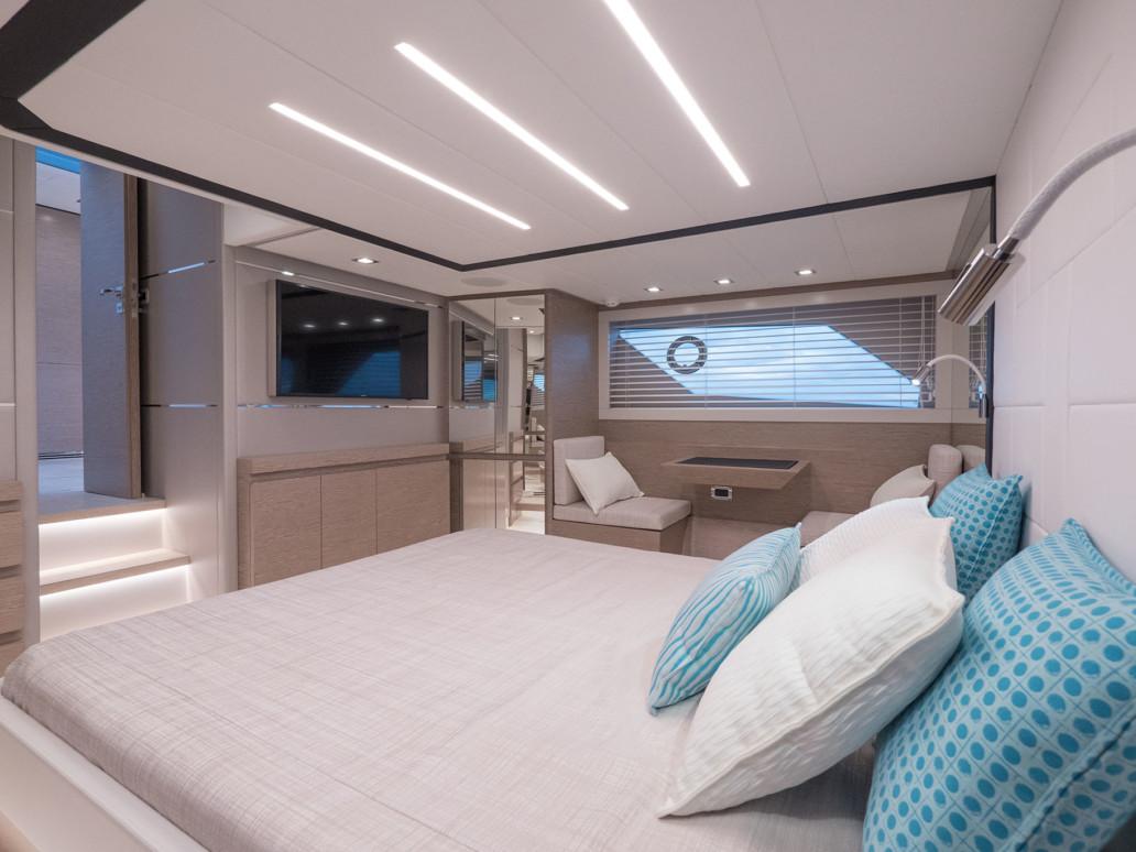 Imbarcazione 15 metri design italiano