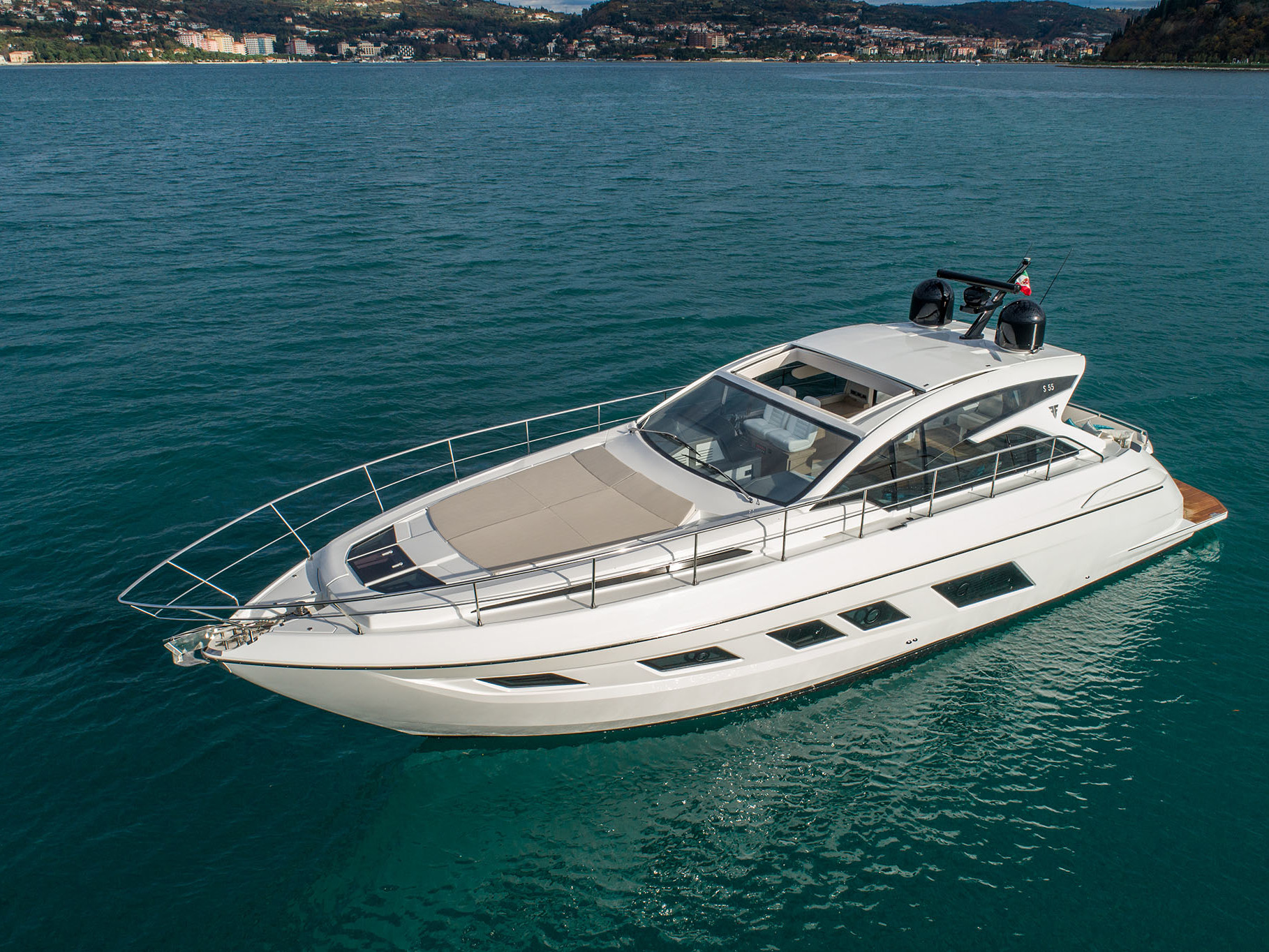 S55 open yacht high performance