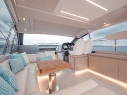 Open yacht 55 feet