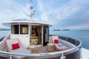 Private Owner Deck Filippetti Navetta 30 metri