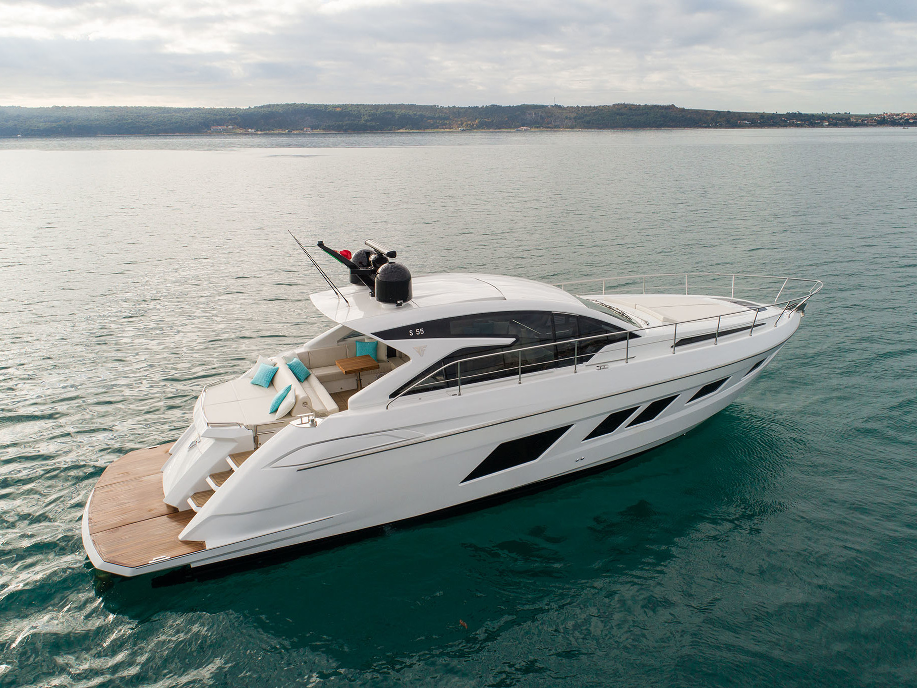 S55 open yachts
