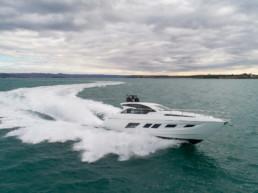 Yacht sportivo italiano