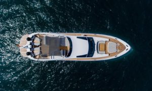 Top View F93 Filippetti Yacht