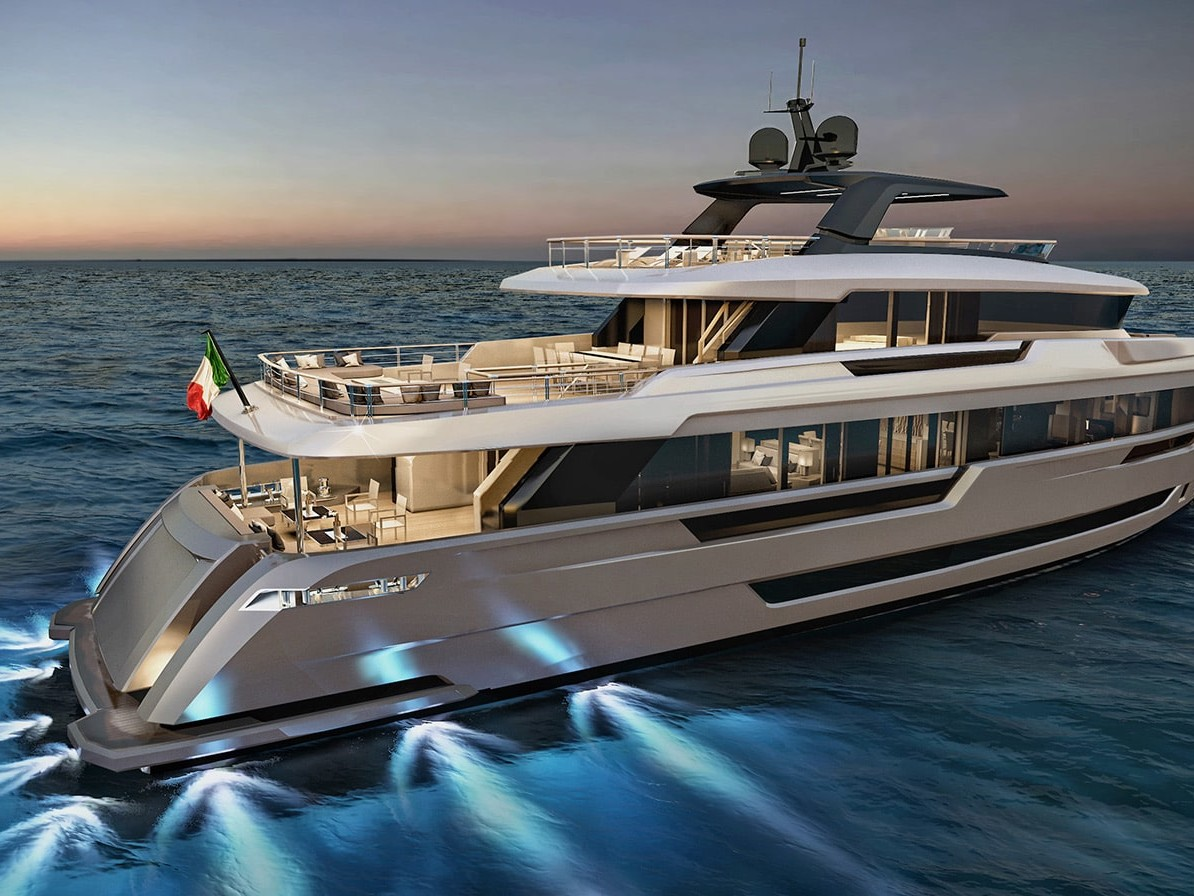 Explorer Yacht Filippetti for sale 32 meters