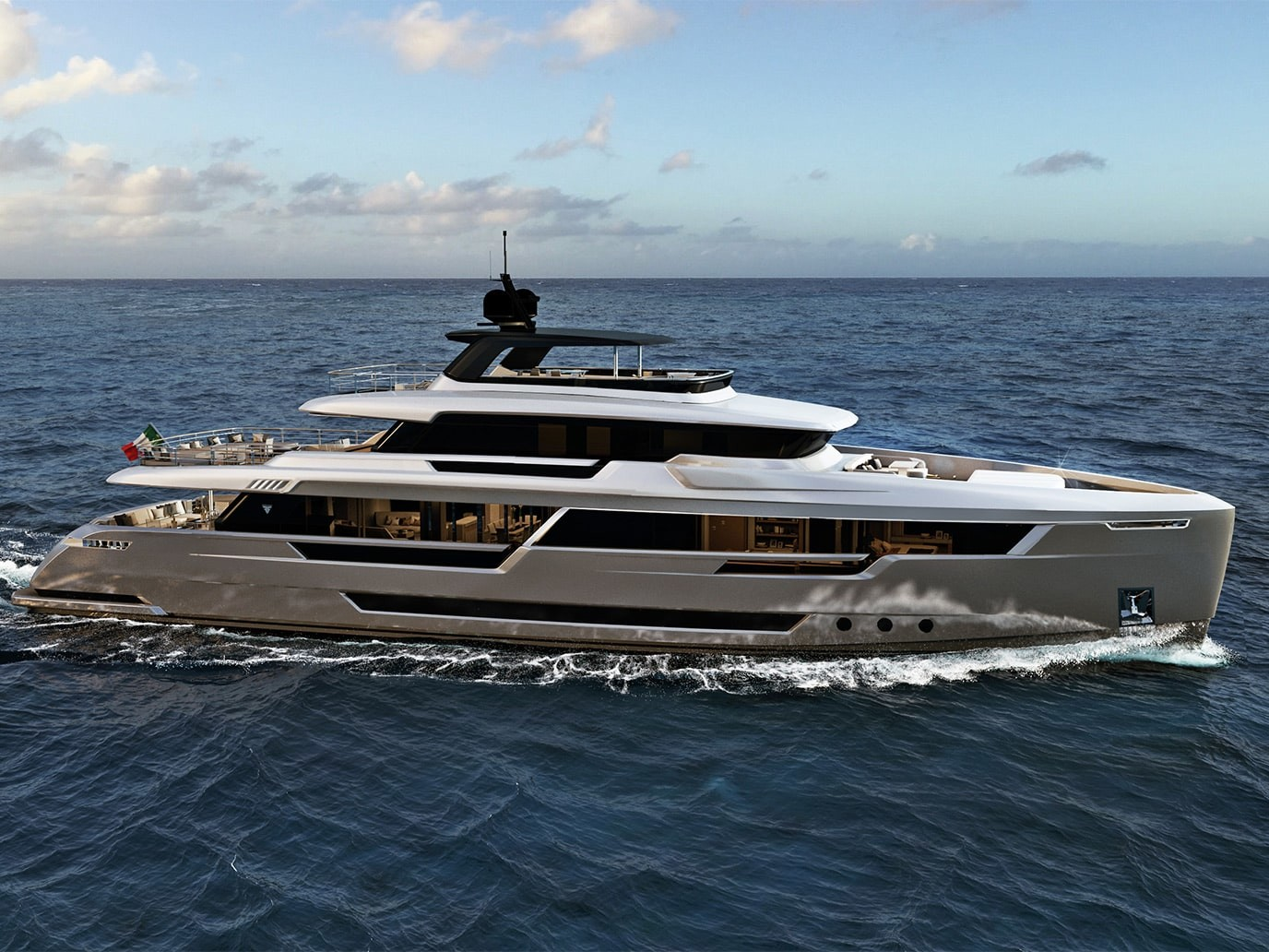 Explorer Yacht Filippetti for sale 40 meters