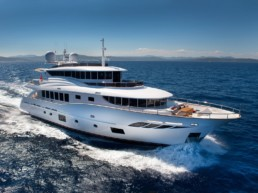 Luxury displacement yacht Filippetti N30
