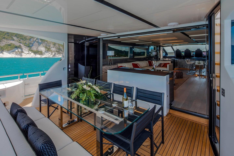 Fly Bridge Luxury Yachts