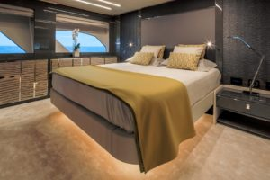 Customized Owner Cabin Yacht