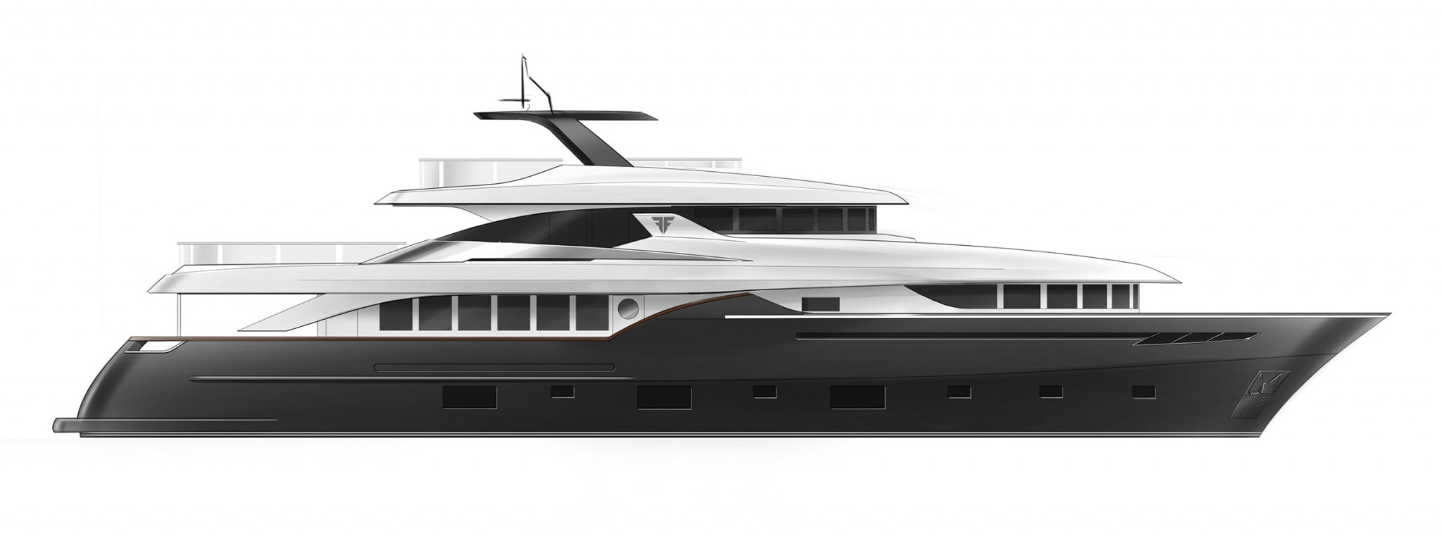 Profile N30 Displacement Yacht Low consumption