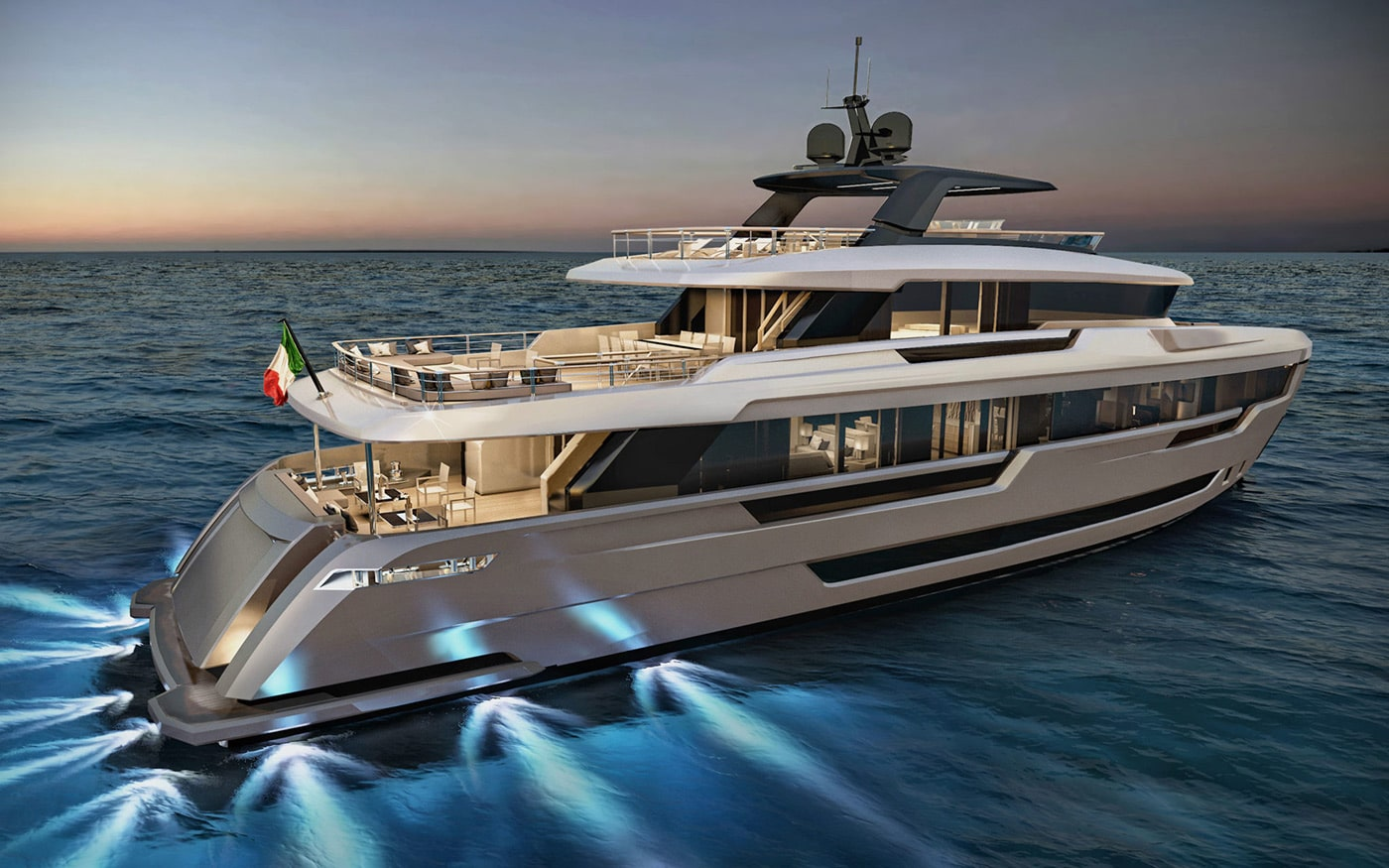 32 meters luxury explorer