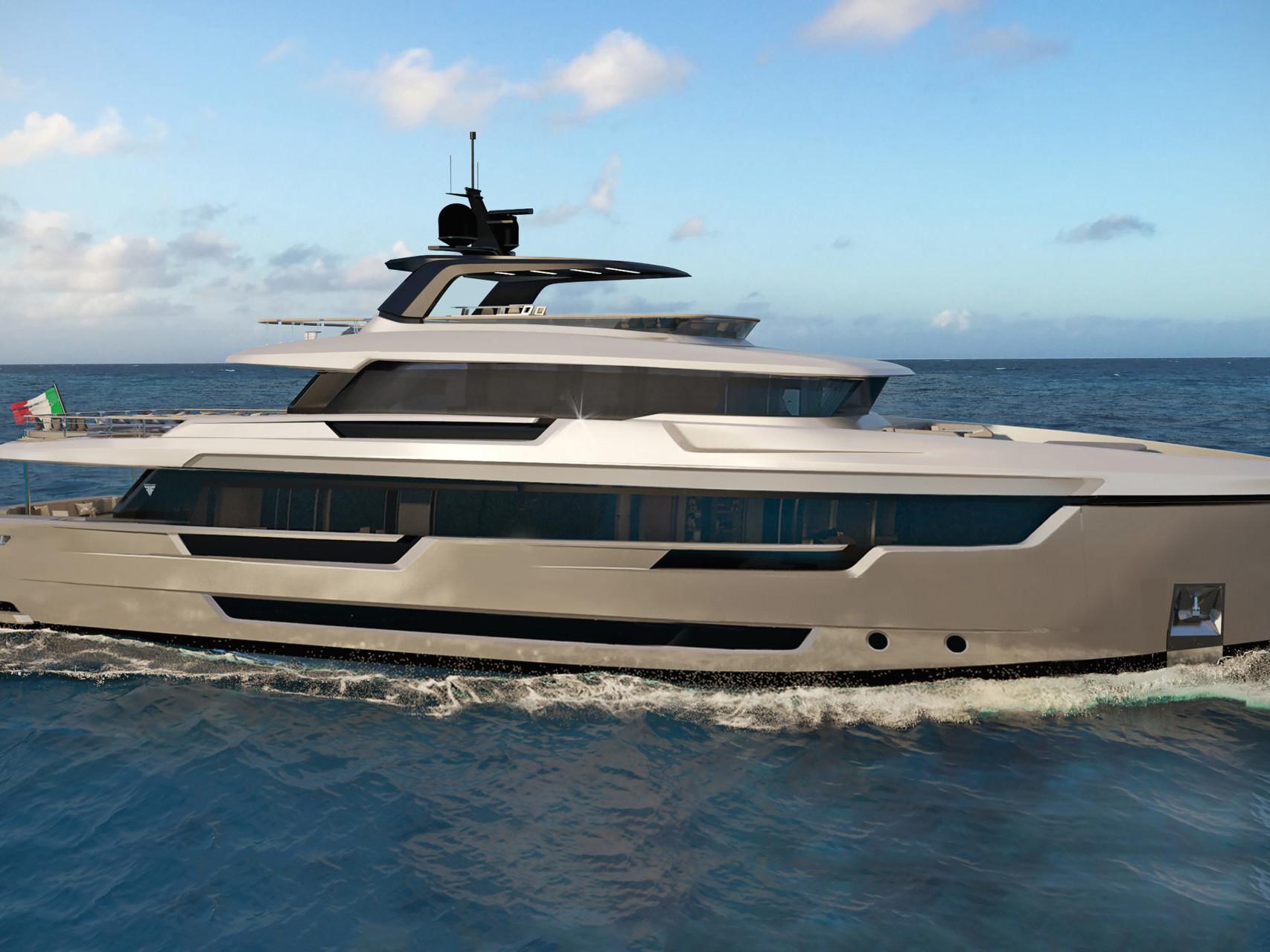 Luxury Yacht 32 meters Steel Explorer