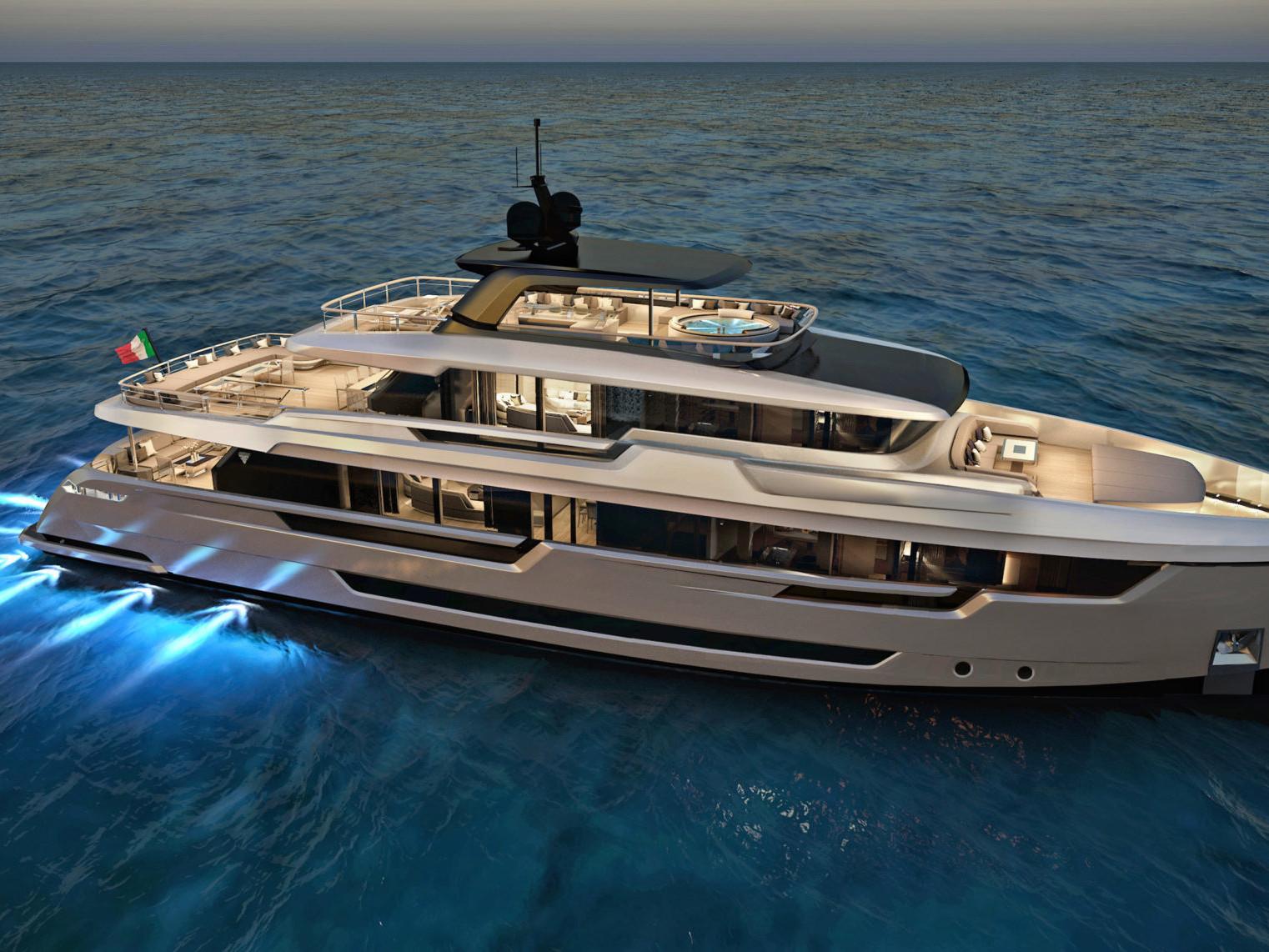 Luxury Yacht 32 meters Steel (5)