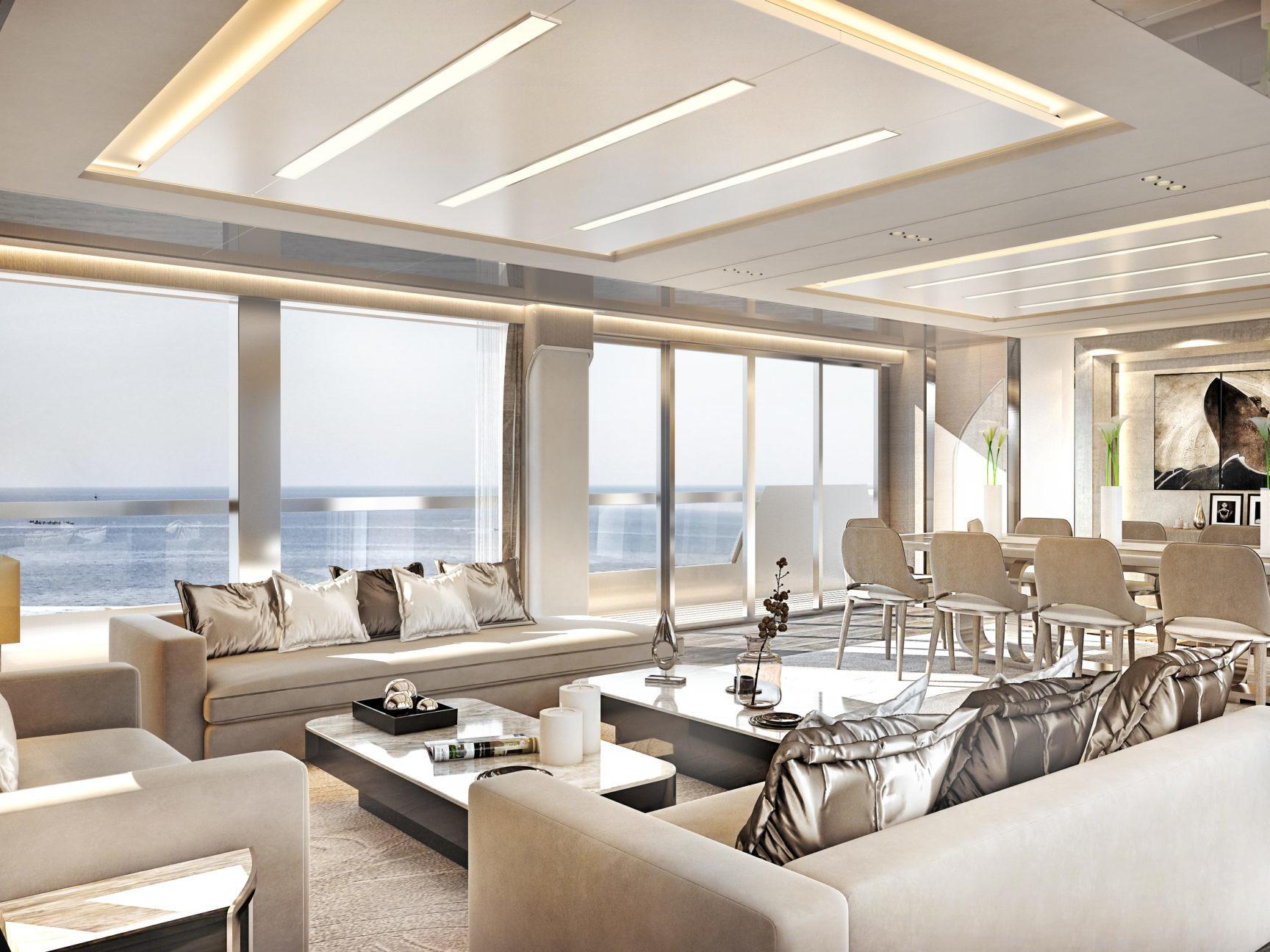 Luxury Yacht Explorer 32 meters Customizable