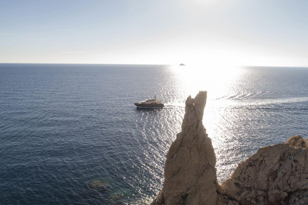 Quiet Luxury Yacht