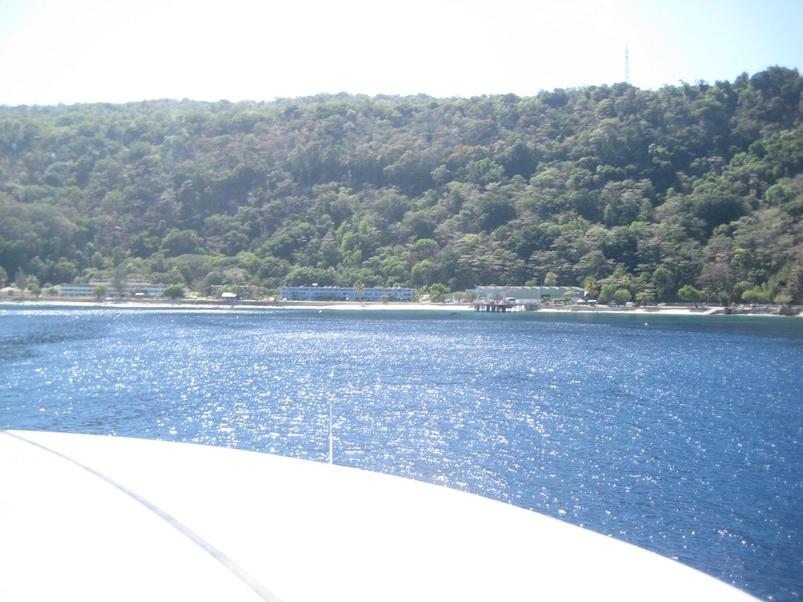Yacht in grado di attraversa l'oceano