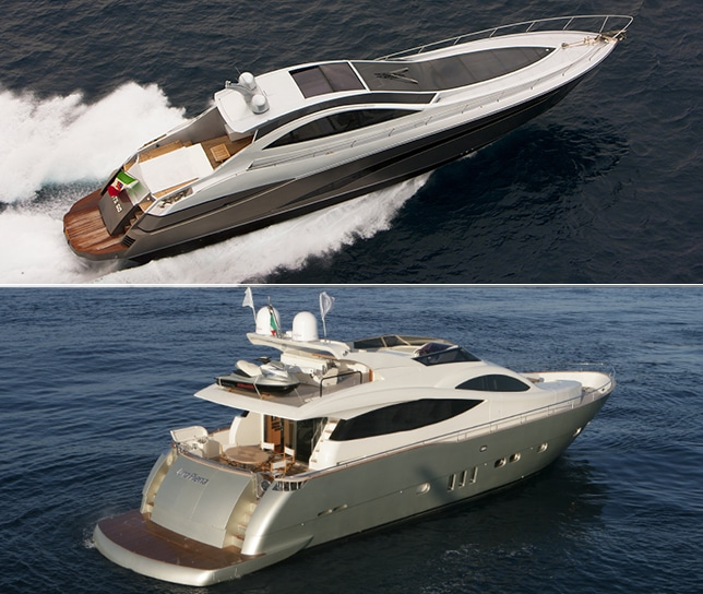 Differenza tra Sport e Fly Bridge Yacht