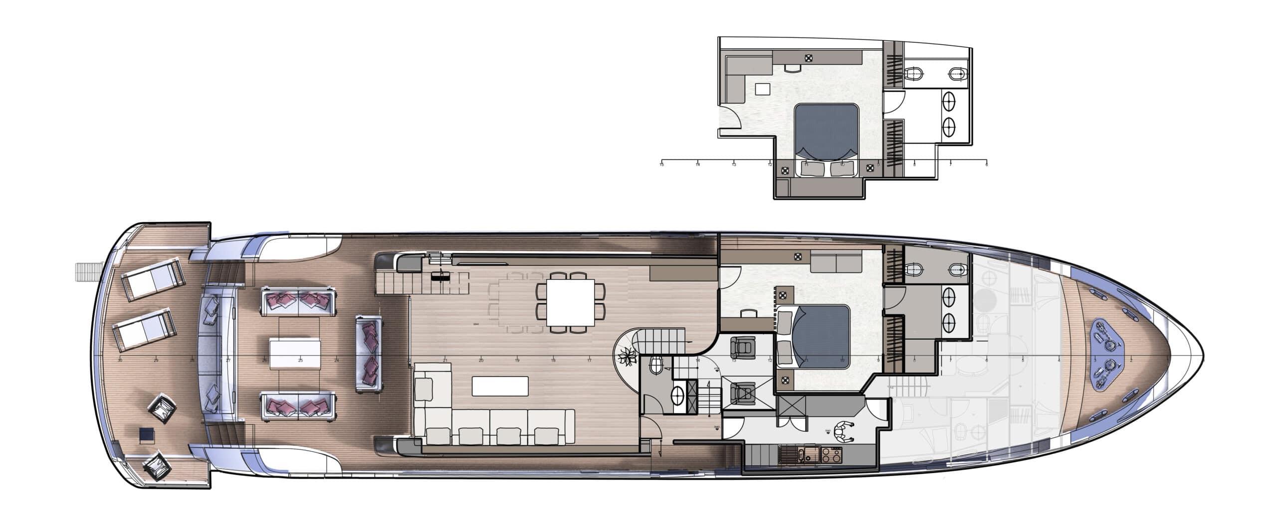F100 Main Deck